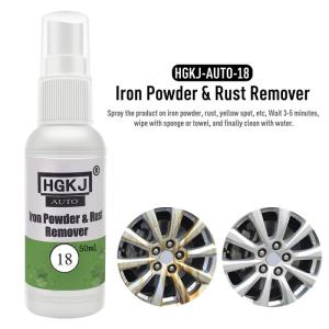 Powder Rust Remover Scratches Repair Polishing Car Wash Maintenance Accessories Paint Care 18 50ml Car Paint Wheel Iron