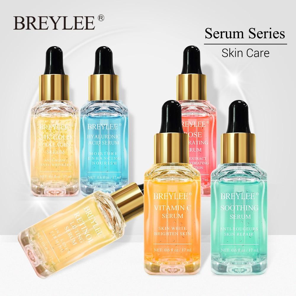 BREYLEE Serum-Series Vitamin-C Collagen Hyaluronic-Acid Lifting Skin-Care Wrinkle Whitening