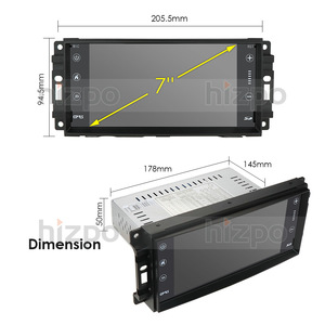 Image 5 - Car Monitor Android 10.0 GPS Player For Wrangler Compass Grand Cherokee Jeep Patriot Liberty Dodge Caliber Journey Chrysler DSP