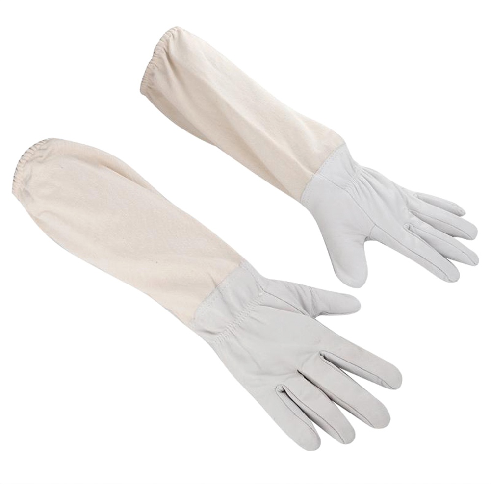 1 Pair Beekeeper Gloves Protective Sleeves Thin Soft Sheepskin Anti Bee Beekeeping Apiculture Equipment For Beework Protection