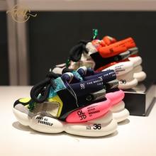 RY-RELAA women sneakers 2018 chunky sneakers INS wedge sneakers womens