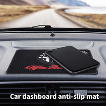 Dashboard-Mat Anti-Slip-Mat ALFA Car-Interior Romeo Auto-Parts Mobile-Phone for Giulia