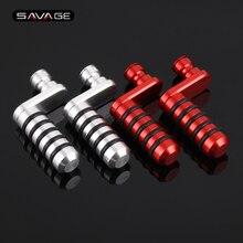بدال فرامل رافعة تحول اصبع القدم أوتاد ل ابريليا RSV4 1000 RR/RF APRC R/F ، SL 750/900 الرعشة ، غ 850 مانا/GT دراجة نارية التحول