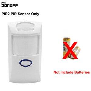 Image 2 - 1/3/5 PCS Itead SONOFF PIR2 Motion Sensor Wireless Automation System Anti Theft Alarm Smart Home Security works sonoff rf bridge
