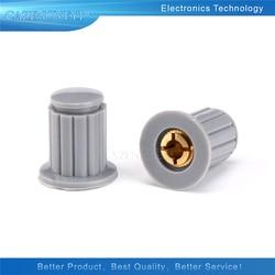 5 шт./лот серый ручка кнопки крышка подходит для высокого качества WXD3-13-2W-поворот со специальными Ручка потенциометра KYP16-16-4