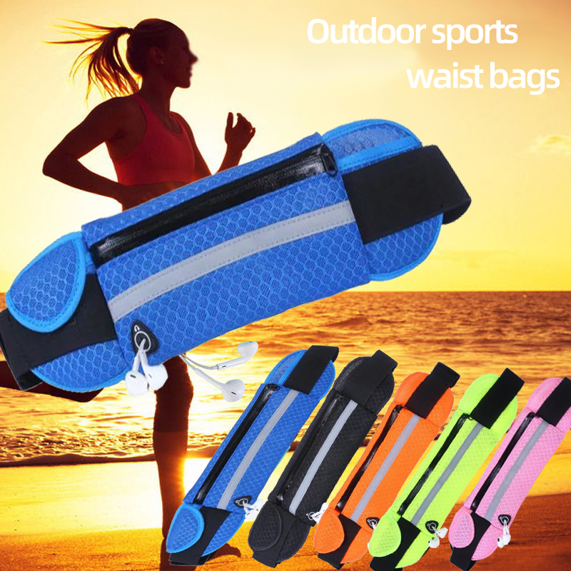 Outdoor Sports Ventilate Pockets Anti-theft Mobile Phone Running Men And Women Tactical Invisible Running Bags Set