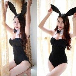 EXVOID ролевые игры Bady Кукольное платье Сексуальное белье кролик девушка Леди Секс игрушки для женщин Униформа эротическое искушение женские ... 6