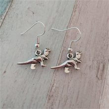 Dinosaur Earrings, Geek Earrings, T Rex Earrings, Teen Earrings, T Rex Jewelry, Animal Earrings, T Rex Gift, Dino Earrings