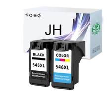 JH PG545 CL546 Cartucho de tinta para Canon PG 545 CL 546 Pixma IP2850 MX495 MG2450 MG2550 MG2950 NS28 Impressora