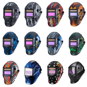 Auto Darkening Welding-Helmet Li-Battery Solar Electric-Din4/9-13 Tig Mig