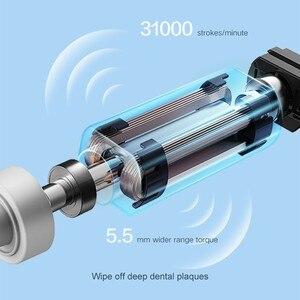 Image 5 - Зубная щетка DR.BEI звуковая электрическая, перезаряжаемая Водонепроницаемая ультразвуковая, для отбеливания зубов, Xiami Xiomi