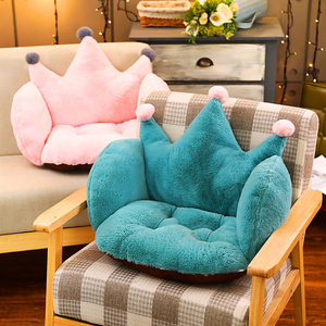 Baby Sofa Chair Cushion COVER Cartoon Crown Plush Seat Pads Floor Cushions Comfortable Filler Cradle Mat for Toddler Children