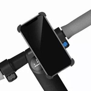 Image 5 - Ninebot バイクハンドルバー電話ホルダー 360 度回転携帯電話ブラケット GPS ホルダー用スクーター