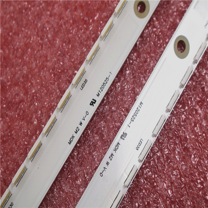 New Kit 2 PCS 56LED 500mm LED Backlight Strip For Samsung UA40ES6100J UE40ES5500 2012SVS40 7032NNB RIGHT56 LEFT56 2D Panel
