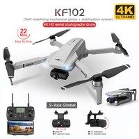 KF102 GPS Drone 4K Profesional 5G WiFi HD Kamera 2-Achse Anti-Schütteln Gimbal Quadcopter Bürstenlosen mini Eders VS SG906 Pro2 Fimi x8