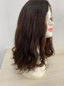 Image 5 - รับรองKosher 18 นิ้วสีน้ำตาลเข้มเน้นยุโรปVirgin Hair Kosherวิกผมชาวยิววิกผมที่ดีที่สุดSheitelsจัดส่งฟรี