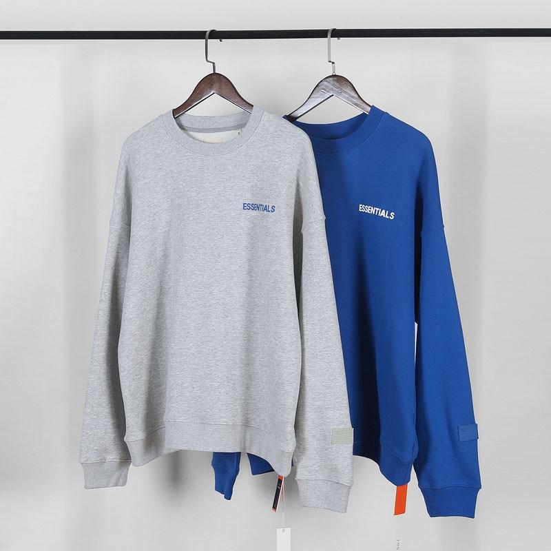 Best Quality Fog Essentials Nipsey Hussie Sweatshirts Men Women Crenshaw Embroidery Oversized Fleeces Crewneck Hoodie Men