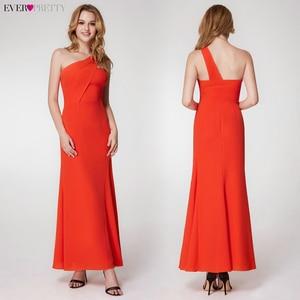 Image 5 - פשוט ערב שמלות ארוך פעם די אונליין צווארון V שרוולים צד פיצול אלגנטי רשמי המפלגה כותנות Długa Sukienka 2020