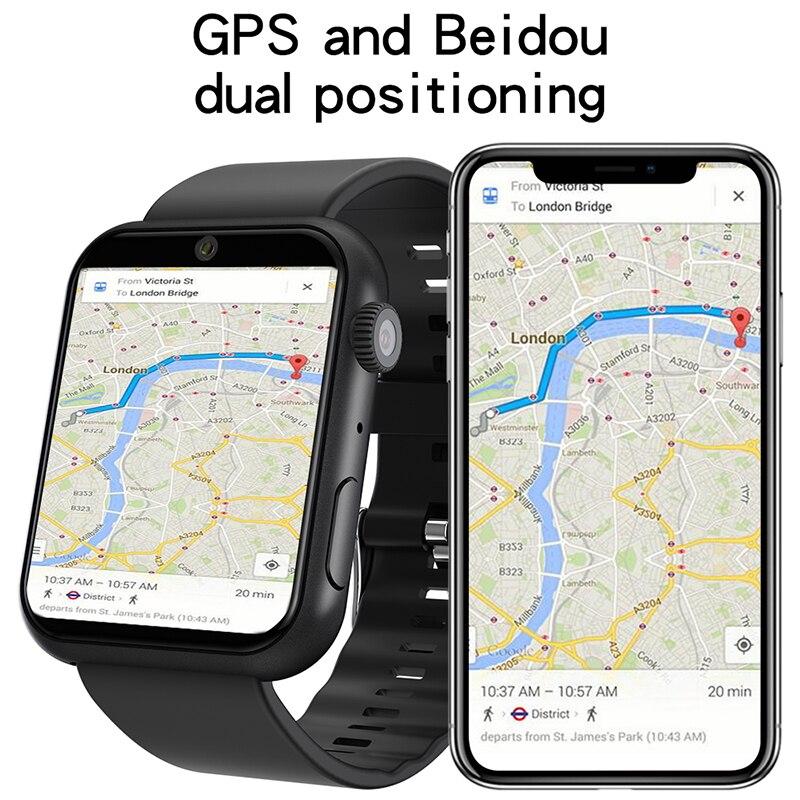 Смарт часы 2020 с двойной камерой 5 Мп google map mtk6739 двухъядерный