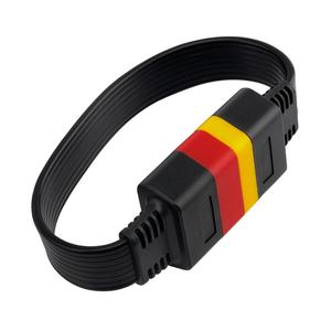 Image 5 - OBDII Extension cable 16 Pin Male To Female OBD2 Connector 16Pin diagnostic tool ELM327 OBD2 extended adapter 0.36m