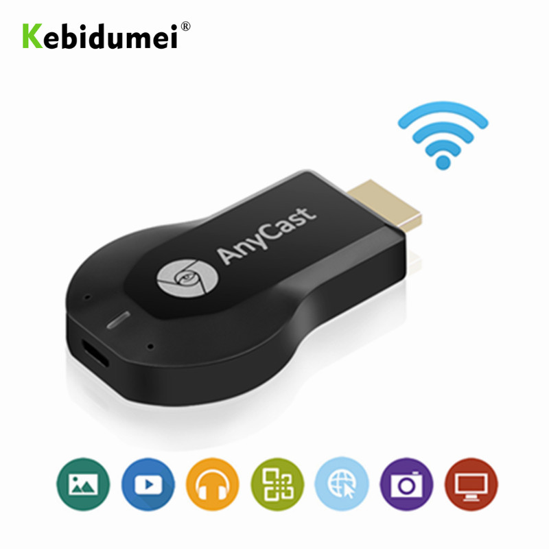 kebidumei wireless HD wifi display TV stick share cast dongle adapter miracast Receiver Support Android Linux