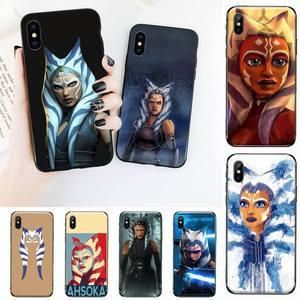 Image 1 - Ahsoka Tano Telefoon Case Voor Iphone 11 12 Mini Pro Xs Max 8 7 6 6S Plus X 5S Se 2020 Xr