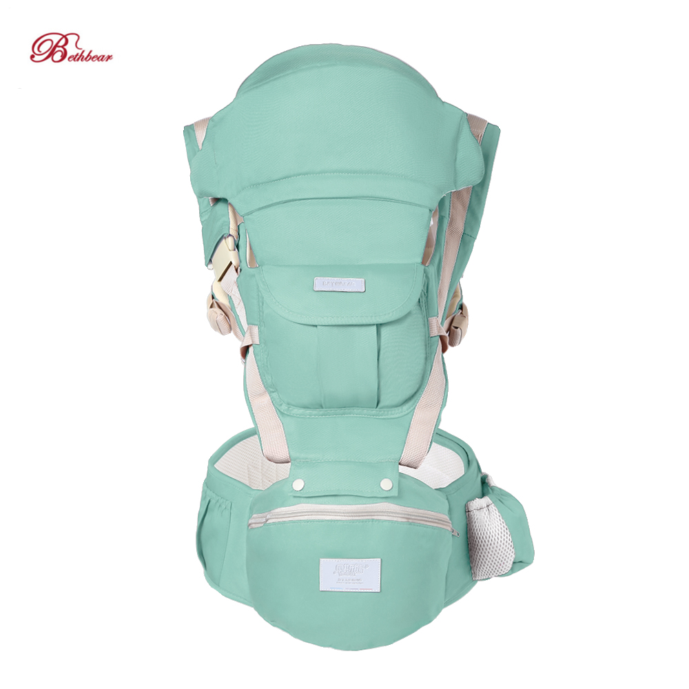 Bethbear Breathable Front Facing Baby Carrier Comfortable Sling Backpack Pouch Wrap Baby Kangaroo Adjustable Safety Carrier
