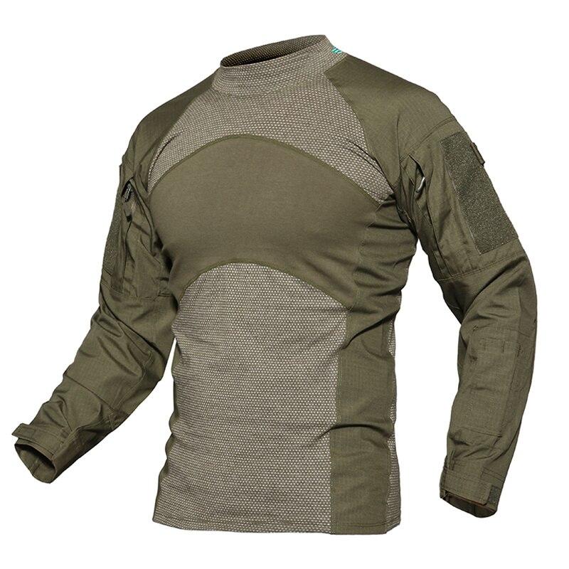 2020 homens verão tático t-camisa do exército marinha combate airsoft topos manga longa militar tshirt paintball caça roupas de camuflagem