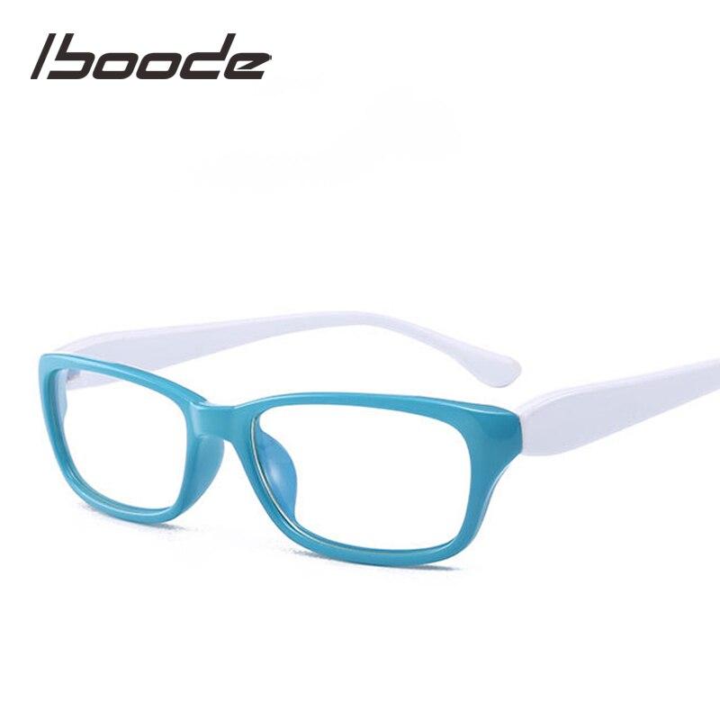 Iboode Retro Finished Myopia Glasses Men Women Unisex Square Shortsighted Eyeglasses Frame Diopter -1.0 1.5 2.0 2.5 3.0 3.5 4.0