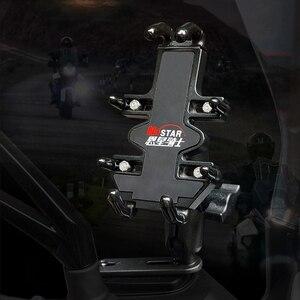 Image 4 - Đế Kẹp Điện Thoại Xe Máy Bộ Đàm Giá Đỡ Hỗ Trợ Điện Thoại Moto Chuyến Đi Du Lịch GPS Giá Đỡ Xe Đạp Hỗ Trợ Điện Thoại Di Động Giá Đứng