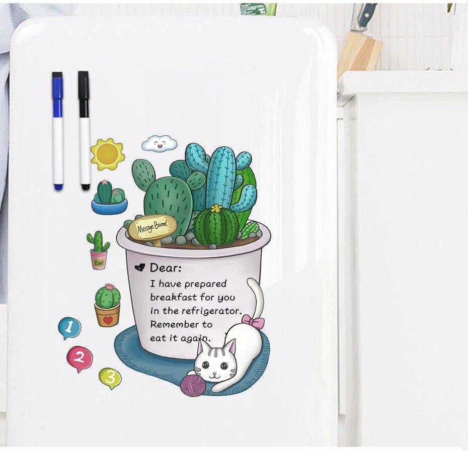 mensagem pão frigorífico ímãs etiqueta lista plano