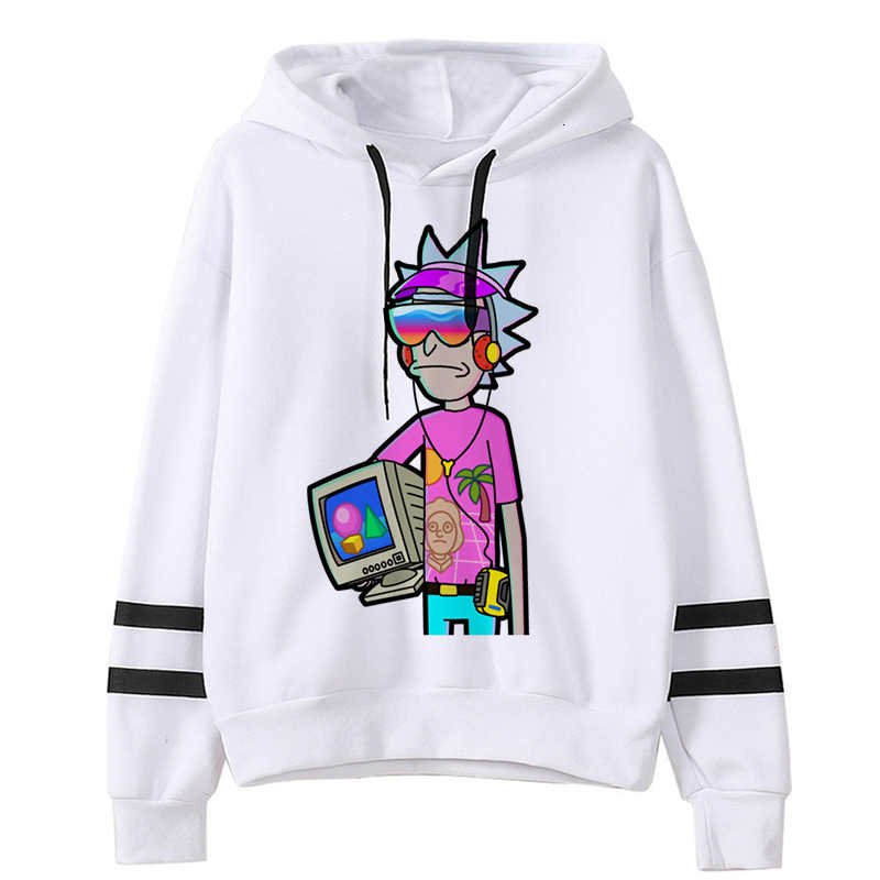 최신 Rick And Morty 재미 있은 만화 따뜻한 까마귀 남성/여성 Ricky N Morty Fashion 90s 운동복 Unisex Hip Hop Hoody 남성/여성