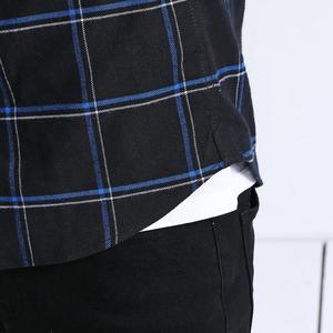 Image 5 - Simwood Cổ Áo Sơ Mi Nam 2020 New 100% Nguyên Chất Cotton Tay Dài Kẻ Sọc Áo Sơ Mi Nam Slim Fit Plus Kích Thước Camisa Masculina 190008