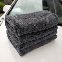 40*40CM 60*90CM Tessuto Panno di Lavaggio Auto Asciugamano, Asciugamano In Microfibra, Asciugamano Auto, assorbente Asciugamano 1200GSM di Secchezza del Panno di Pulizia Dellautomobile