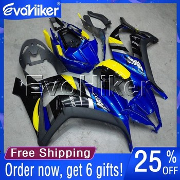 Custom motorcycle plastic cover for ZX10R 2011-2015 ABS fairing Injection mold blue+gifts