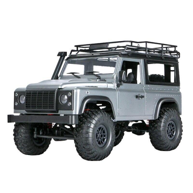 MN 99s 2.4G 1:12 4WD RTR chenille télécommande RC voiture jouets tout-terrain pour Land Rover véhicules modèles avec deux batterie