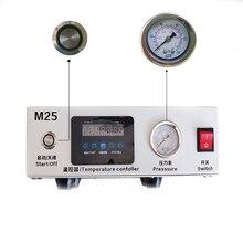 M25 жидкокристаллический сенсорный экран для удаления пузырьков воздуха высокое давление lcd восстановительная машина нужен внешний насос для iPhone samsung