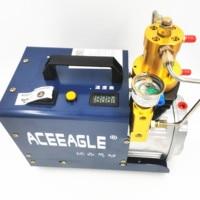 220V 1.8KW 30 Mpa Electric Air Compressor High Pressure Air Pump pneumatic Airgun PCP Inflator Pressure setting