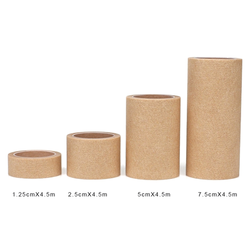 1Roll 4.5 Meters Skin Color Breathable Non-woven Fabric Wrap Tapes Wound Injury Care