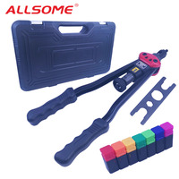 ALLSOME BT 607 16 Heavy Duty Manual Riveter Guns Hand Riveting Tool Hand Rivet Nut Gun
