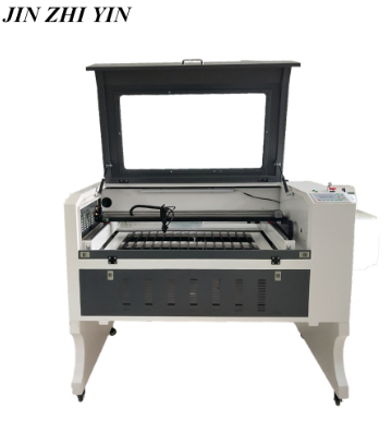 6090 Laser Engraving Cutting Machine 80w Wood Acrylic Co2 Laser Engraver Cutter Ruida 6442s Front To Rear Design