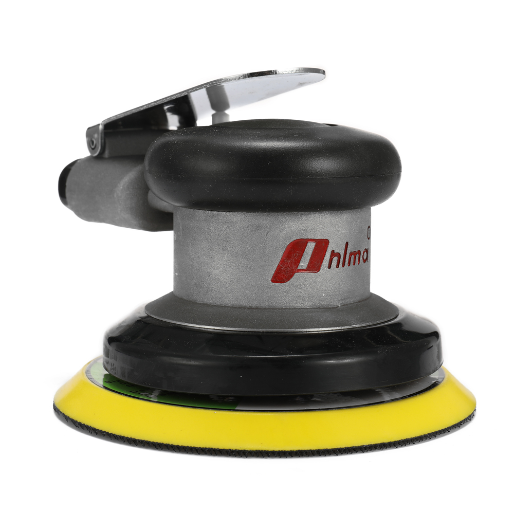 GUONING-L High Strength Pneumatic Sander SN-313 Dry Grinding 5 Inch Industrial Grade Dust-free Pneumatic Grinding Machine Multifunction and Ergonomic Air Tool