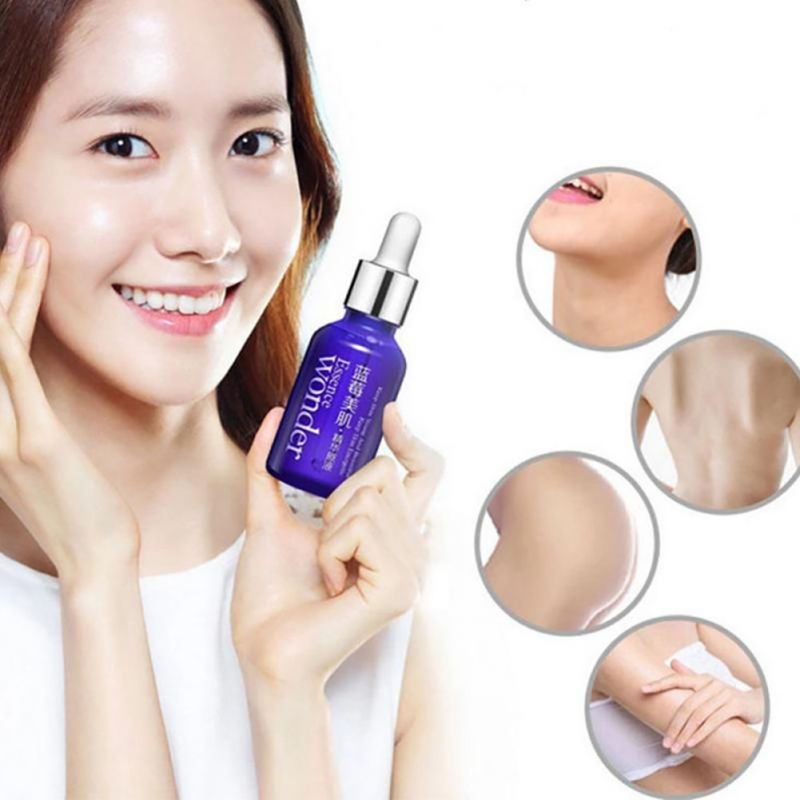 Blueberry Serum Hyaluronic Acid Liquid Serum Facial Anti Wrinkle Anti Aging Collagen Serum Essence Whitening  Oil E3*s