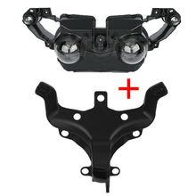 Motorcycle Front Headlight Upper Fairing Stay Bracket For Yamaha YZF R1 YZF-R1 2009-2011 motorcycle parts front nose upper fairing cowling headlight support bracket stay holder for 2004 2005 2006 yamaha yzf r1 rn12