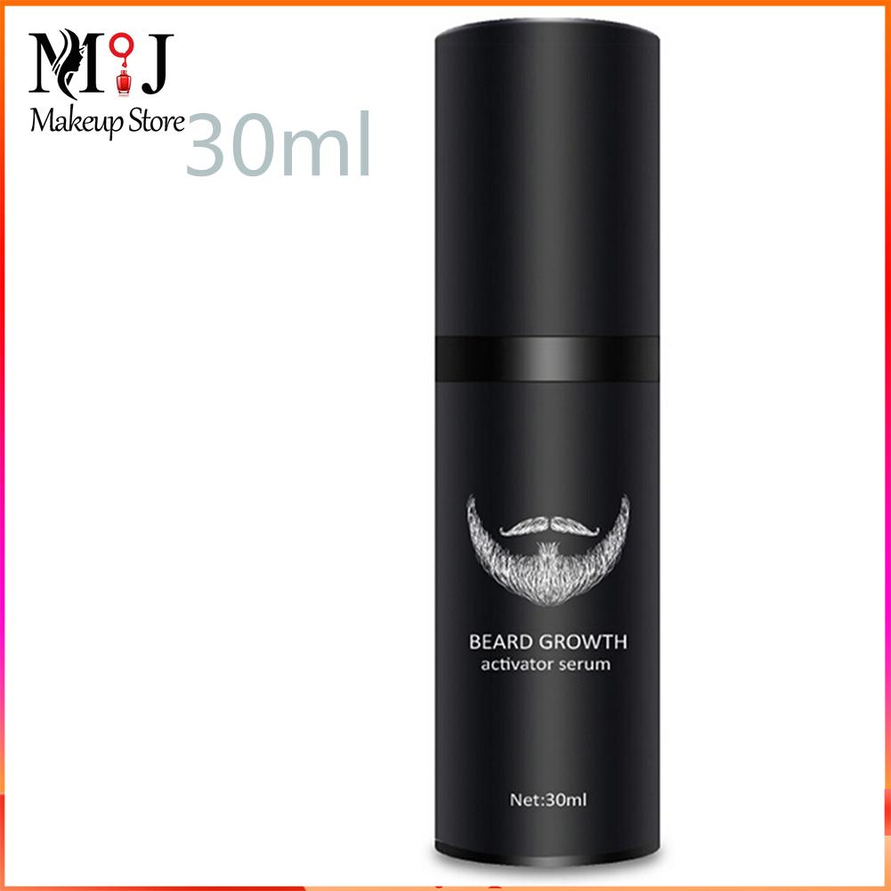 Beard Growth Serum Hair Growth Oil for Men Facial Hair Supplement Thicker and Fuller Mustache Grower
