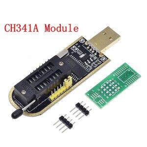 Image 3 - TZT CH341A 24 25 serii EEPROM Flash BIOS programator usb moduł + SOIC8 SOP8 klip testowy na EEPROM 93CXX/25CXX/24CXX zestaw do samodzielnego montażu