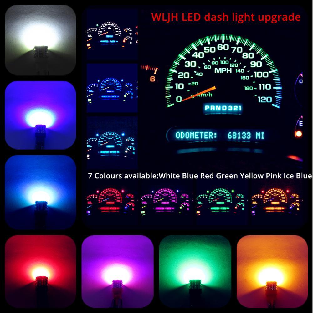 6 TWIST LOCK SOCKET T10 LED INSTRUMENT PANEL CLUSTER DASH LIGHT BULB PC168 PC194