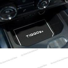 Lsrtw2017 żel krzemionkowy mata do drzwi samochodowych wykończenia dla Chery Tiggo 4 5x2017 2018 2019 2020 Tiggo 4 akcesoria samochodowe Auto stylizacji