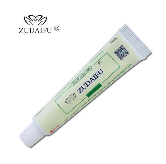 YIGANERJING Venta caliente 5 piezas de ZUDAIFU + 5 piezas de cuidado de la piel de la Psoriasis del cuerpo de pifubaodian (sin caja de venta al por menor)