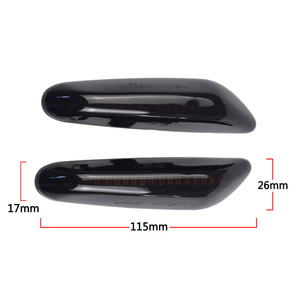 Image 5 - Dinâmica LED Fender Lado Marcador de Luz Para BMW E60 E61 E90 E91 E81 E84 E88 E92 E93 E82 E46 1 3 5 série x1 2004 2010 flasher